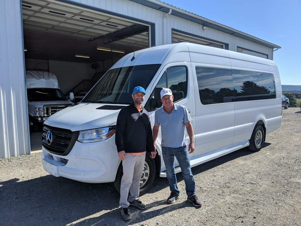 One of a Kind 2019 Mercedes Sprinter Party Bus