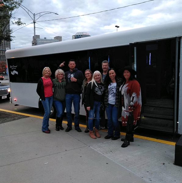 Party Bus Rentals in Downtown Pittsburgh